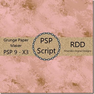 RDD-GrungePaperMakerDisplay