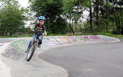 Young Bike Trialer