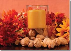 fall candle blog