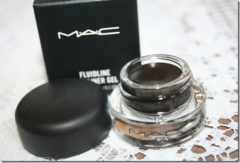 MAC Blacktrack Fluidline Eyeliner Gel Review & Swatches | Katie Snooks