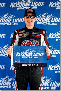 Kyle Busch truck pole Dover