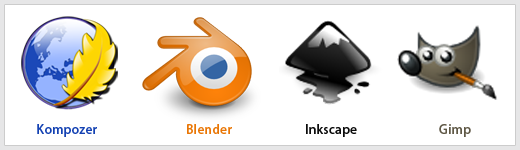 software desain linux
