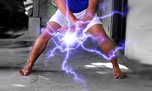Chidori Light Flames Fffects Photoshop