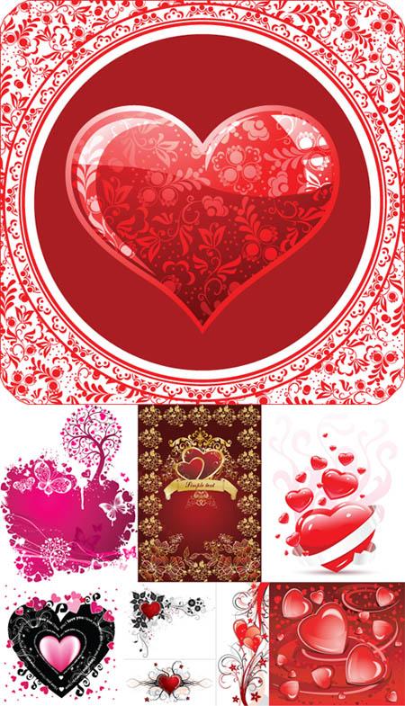 Valentine Days Heart Vector