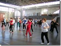 Actividades deportivas femeninas en el Pabellón almodovareño, en una imagen de archivo.