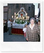 Imagen de la reciente procesión de la Virgen de la Cabeza, organizada por su Hermandad.