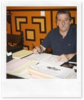 Vicente de Gregorio, en su despacho de alcaldía.