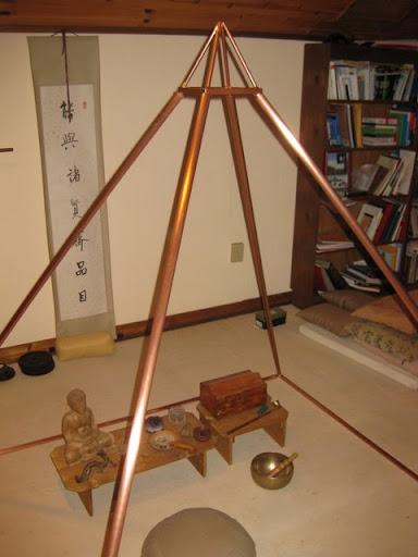 Copper Pyramid - Landretti's Art Factory
