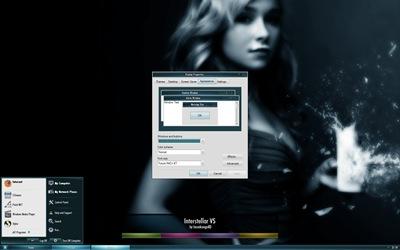 Interstellar,windows style xp theme download,xp佈景主題vista,visual styles,xp佈景主題教學下載,桌面改造,桌面美化,破解xp佈景主題限制