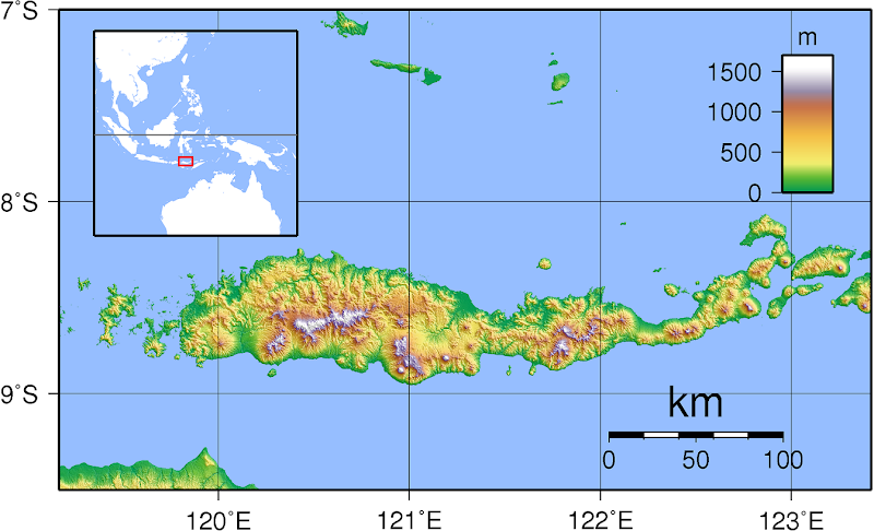 mapa_de_la_isla_de_Flores_en_Indonesia