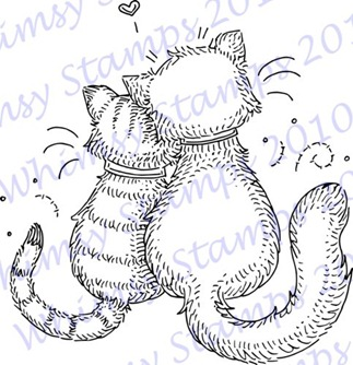 Meljens Designs Kitty Cat Love ONLINE