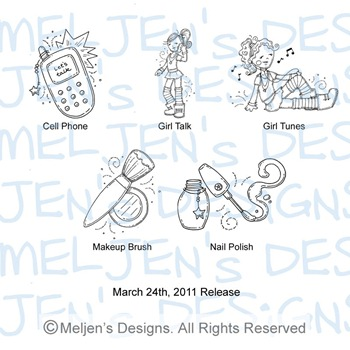 Meljens Designs March 24th Release Display