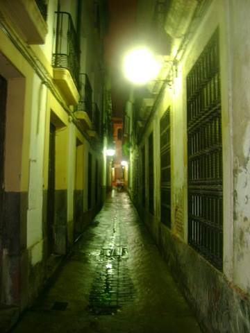 Calle en Cordoba españa