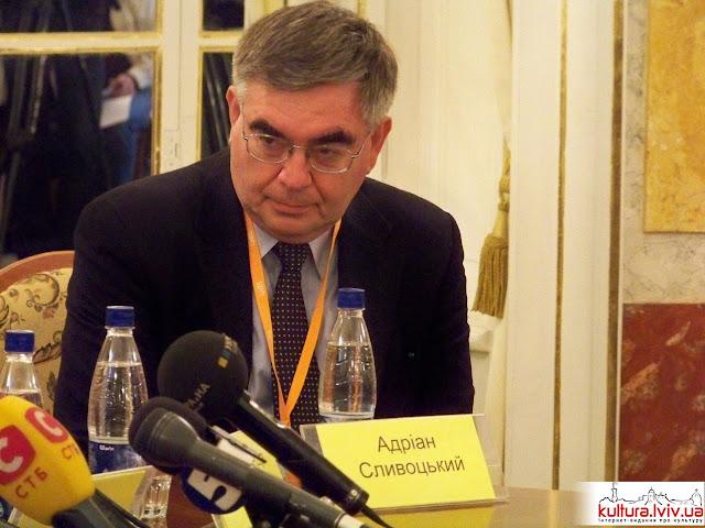 Адріан Сливоцький, почесни гість 17 Форуму Видавців