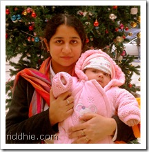 Riddhie & Mom