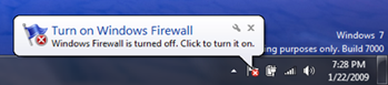 win7 firewall