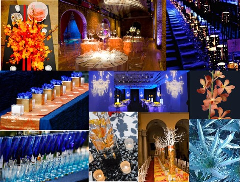 MS gala design board