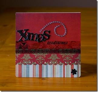 xmas traditions card