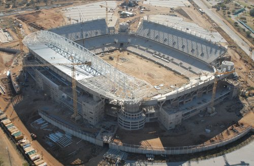 Building stadium