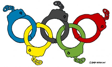 The Olympic Handcuffs