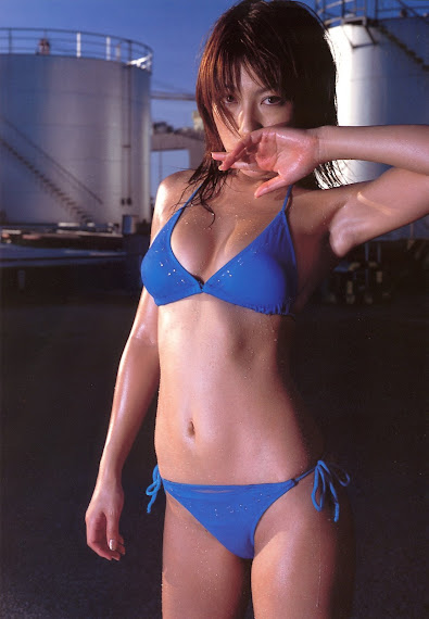 Yoko Kumada Hot In Blue