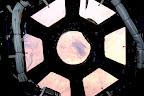 Let there be light! Cupola windows open toward Sahara desert.... on Twitpic