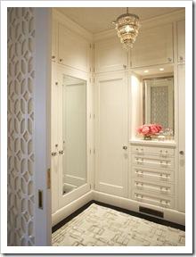 vestidor con muebles a medida lacados blanco 2