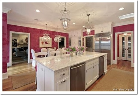 Decor Pad - Pink Kitchen
