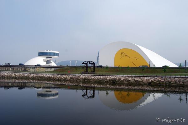 reflejos - centro niemeyer
