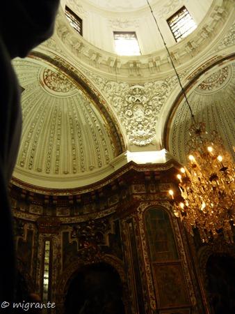 cúpulas interior - real monasterio de santa maría de guadalupe
