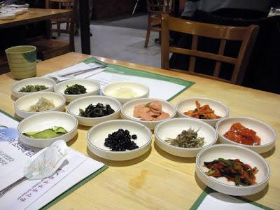 Korean food and Bertucci's in Boston