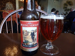 Mount Vernon, Harvest Ale, Mt Vernon, colonial food, Virginia