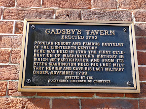Colonial Food in Virginia Part 2… Dinner at Gadsby's Tavern