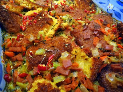 Cornbread Stuffing - Veggie Version