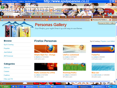 Merubah Tampilan Firefox Menjadi Lebih Keren dengan Personas Plus