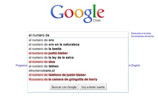 Búsquedas raras en Google 7