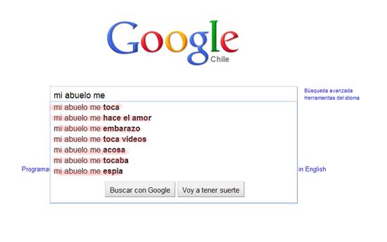 Búsquedas raras en Google 8