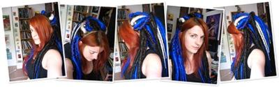 Afficher Dreads bleues