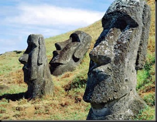 estátuas ilha páscoa