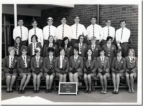 Cronulla High 1968