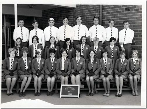 Cronulla High 1968