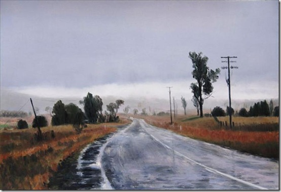 Rain on the Uralla Road Julia Griffin