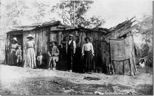 Aborigines Home the Island Urunga
