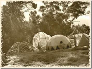 Nimbin domes 1973