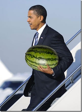 obama-watermelon