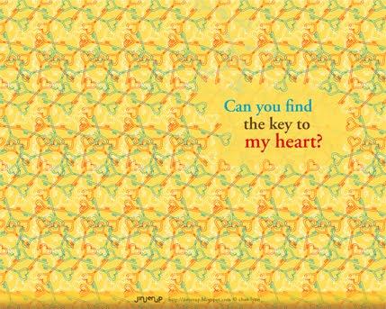 Jinjerup  Freebie of the week  Key to my heart Wallpapers
