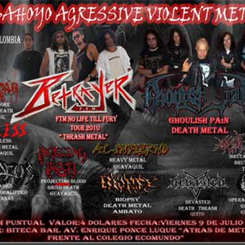 Babahoyo Agressive Violent Metal