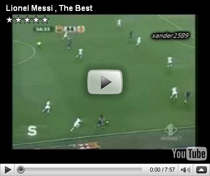 Lionel Messi: The Best (Origen: Italia)