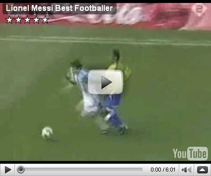 Lionel Messi Best Fooballer (Origen: Iraq)