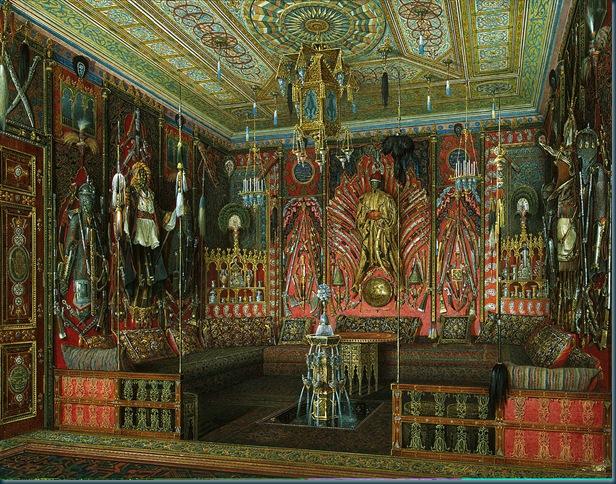 Sala de Turquía en el Palacio de Catalina en Tsárskoie Selo
